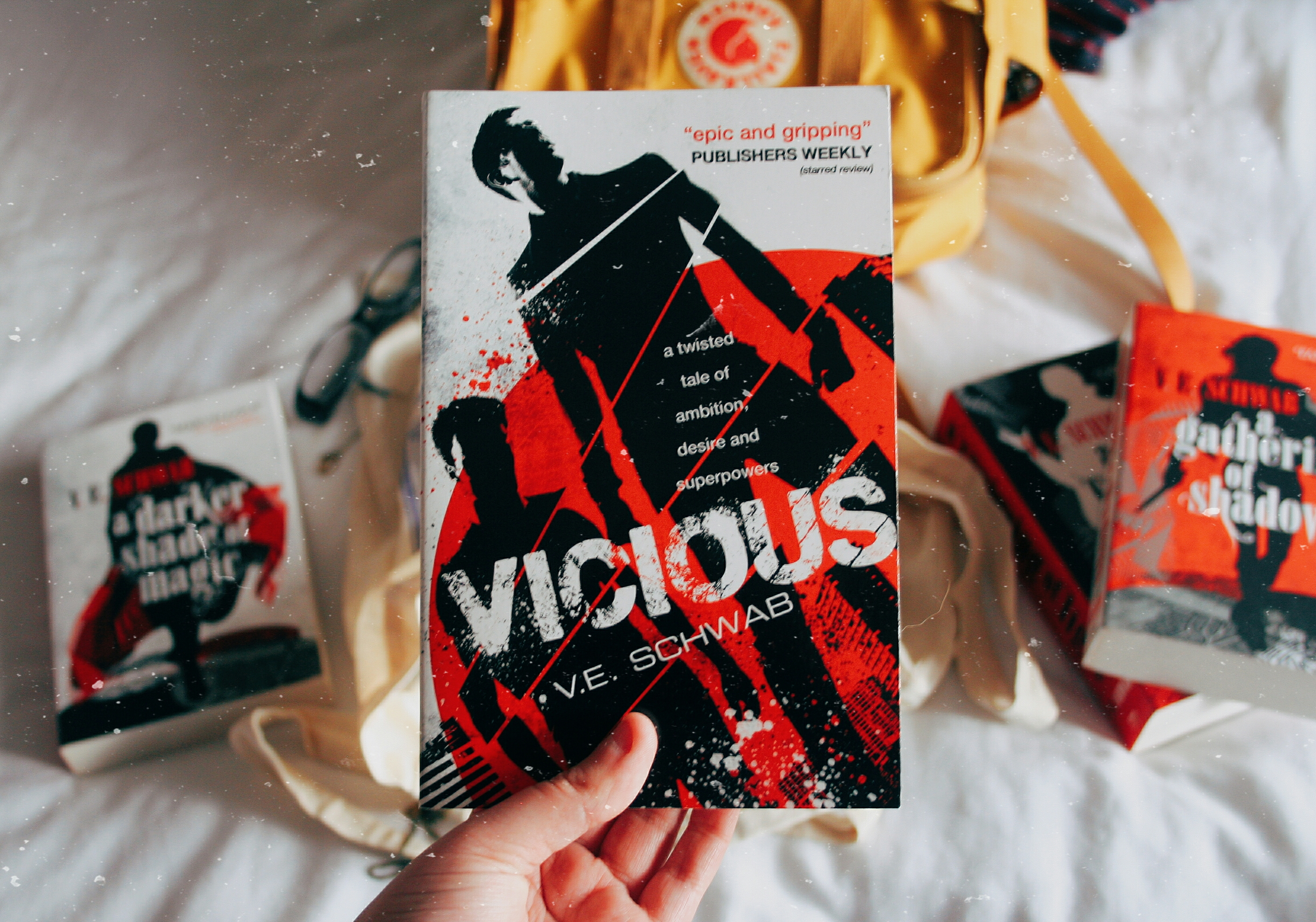 #ukrereadathob vicious by v.e. schwab