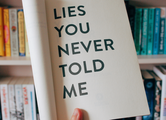 Lies You Never Told Me by Jennifer Donaldson