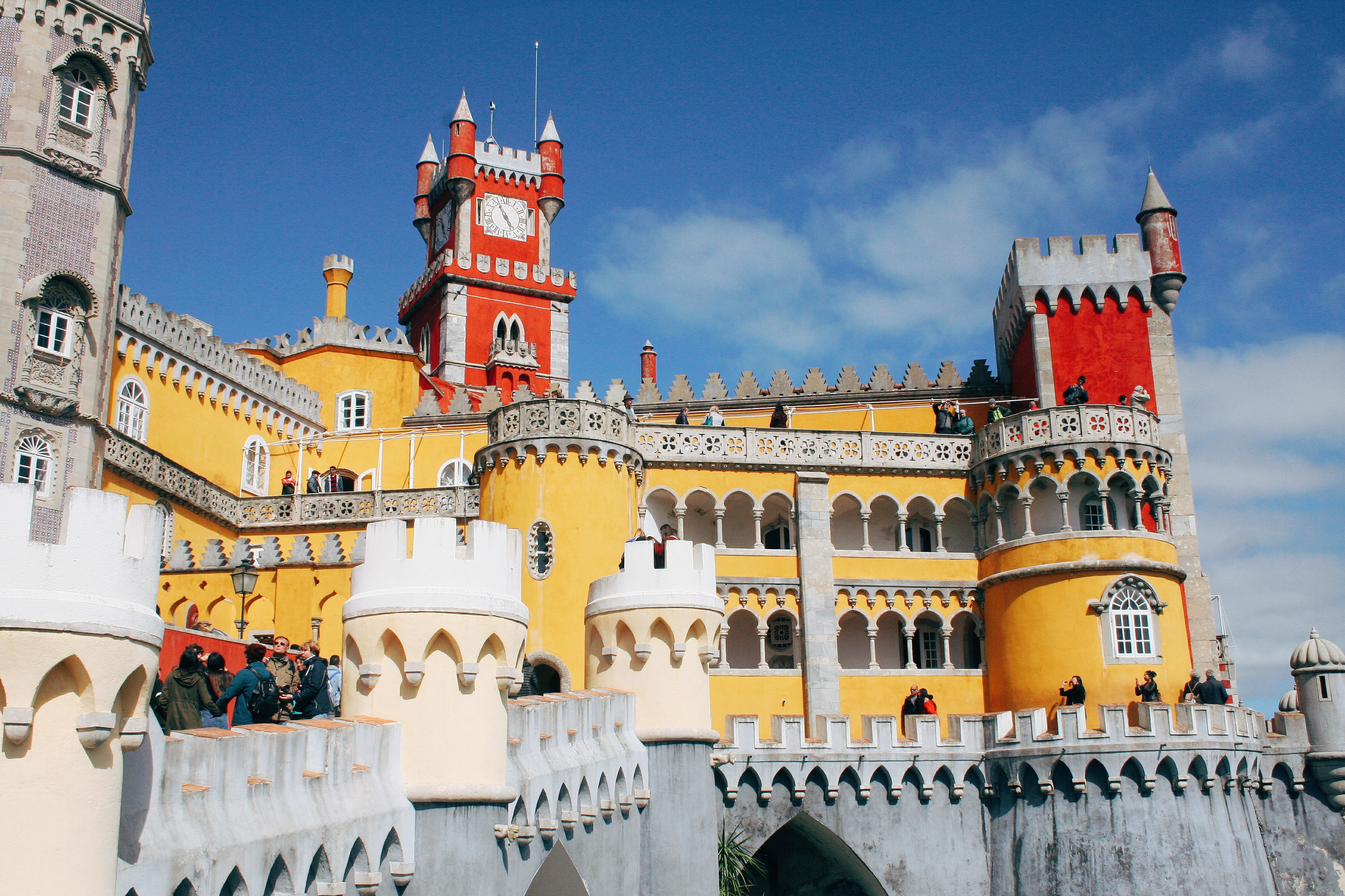 Pena Palace in Lisbon