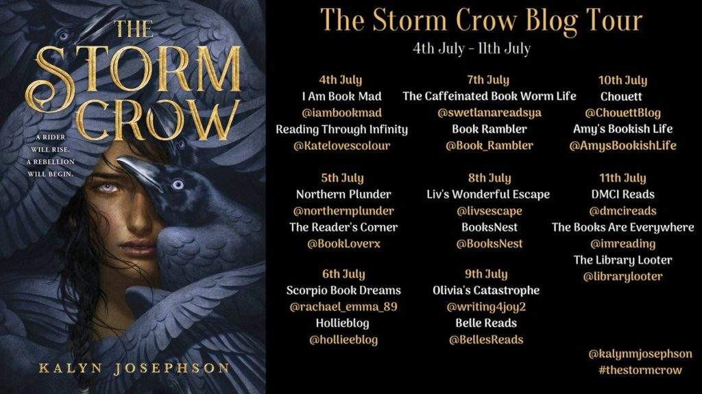The Storm Crow Blog Tour poster