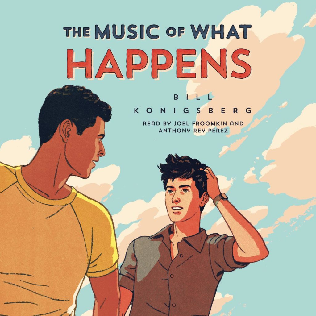 The Music of What Happens audiobook cover